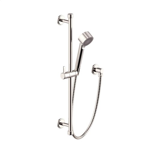 Slide Bar With Hand Shower Darby Series 15 Polished Nickel