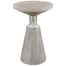 Aron Accent Table in Light Grey