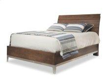 Queen Wood Plank Bed