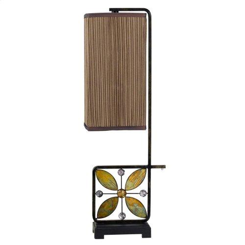 60W Matera Metal Buffet Lamp