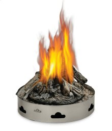 Patioflame® Propane Gas with Logs Stainless Steel , Propane