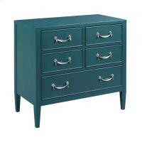 Teal Drawer Cabinet Product Image