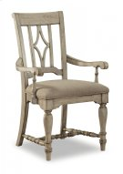 Plymouth Upholstered Arm Dining Chair Product Image