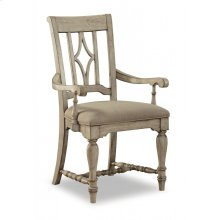 Plymouth Upholstered Arm Dining Chair