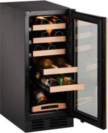 "Stainless Field reversible 2000 Series / 15"" Wine Captain® / Signature Triple Temperature Zone Design"