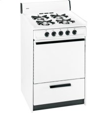 """Hotpoint® 24"""" Compact Gas Range"""