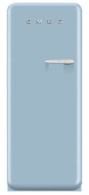 50'S Style Refrigerator with ice compartment, Pastel Blue, Left hand hinge