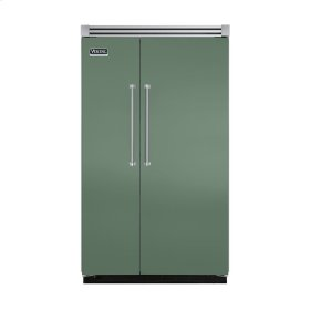 "Mint Julep 48"" Quiet Cool™ Side-by-Side Refrigerator/Freezer - VISB Tru-Flush™ (48"" wide)"