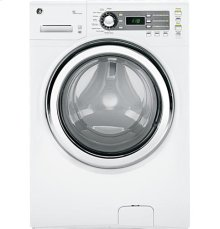 GE® ENERGY STAR® 4.1 DOE cu. ft. capacity frontload washer with steam