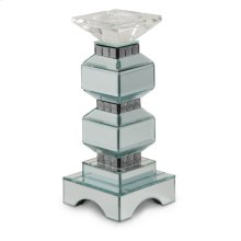 2-tier Mirrored Candle Holder W/crystal Accents (2/pack)
