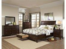 Intercon Bedroom Jackson Sleigh California King Bed-Storage Footboard