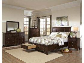 Intercon Bedroom Jackson Sleigh King Bed-Storage Footboard