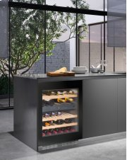 "24"" Built-under multi-temperature wine cabinet"
