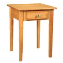 Alder End Table