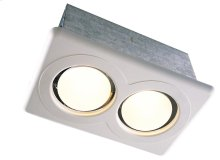 Dual Bulb Heater