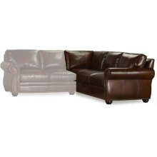 Bradington Young Sterling RAF Corner Return Sofa 8-Way Tie 221-94