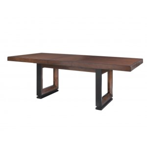 """Steve Silver Co.Toulon 90-inch Dining Table with 18"""" Leaf"""