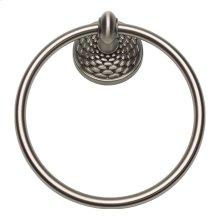 Mandalay Bath Towel Ring - Brushed Nickel