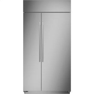 """MonogramMonogram 42"""" Built-In Side-by-Side Refrigerator - AVAILABLE EARLY 2020"""