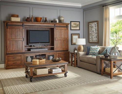 Living Room - Taos Wall Unit Deck