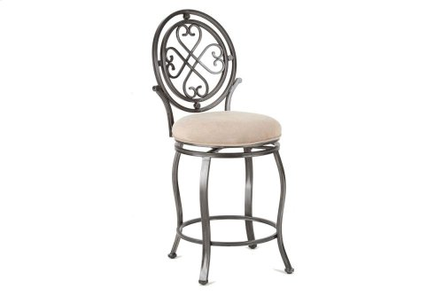 "Melrose Swivel Barstool 17""x20""x47"" [1pc/ctn]"