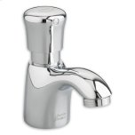 American StandardPolished Chrome Pillar Tap Metering Faucet with Mixing Valve