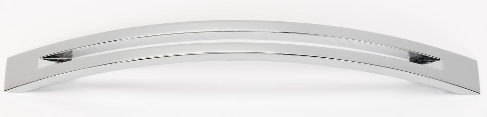 Slit Top Pull A422-8 - Polished Chrome