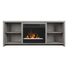 The open design of this stylish TV stand will give a modern edge to any roo...