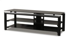"""60"""" Wide Stand Accommodates Most 65"""" and Smaller Flat Panels"""