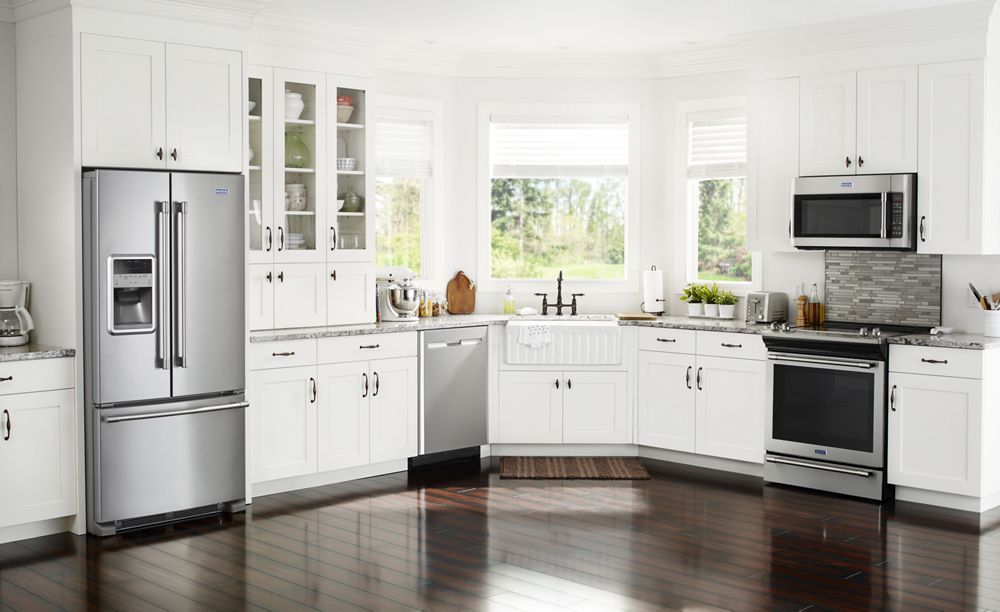 Hidden · Additional 33  Inch Wide French Door Refrigerator With Beverage  Chiller Compartment   22 Cu.