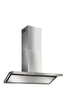 "Circeo - 42"" Stainless Steel Chimney Range Hood for use with a choice of Exterior or In-line blowers"