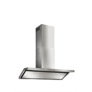 "BestCirceo - 42"" Stainless Steel Chimney Range Hood for use with a choice of Exterior or In-line blowers"