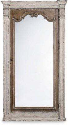 Chatelet Floor Mirror w/Jewelry Armoire Storage