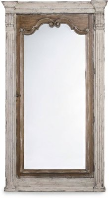 Chatelet Floor Mirror w/Jewelry Armoire Storage