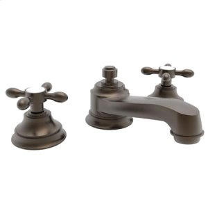 Weathered Brass Widespread Lavatory Faucet