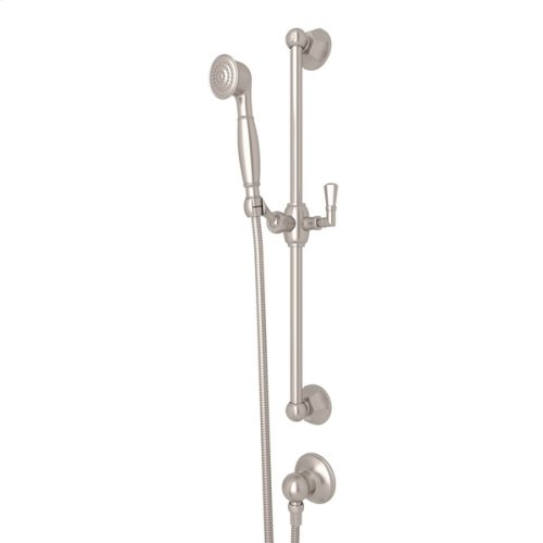Satin Nickel Palladian Handshower Set
