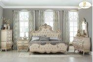 Traditional elegant bedroom set