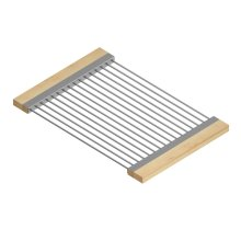 Drying Rack 215307 - Stainless steel sink accessory , Maple