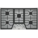 """36"""" gas cooktop, 5 burner Product Image"""