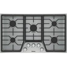 "36"" gas cooktop, 5 burner"