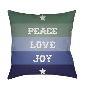 """Peace Love Joy HDY-078 18"""" x 18"""""""