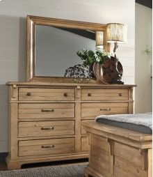 Drawer Dresser - Harvest Pine Finish