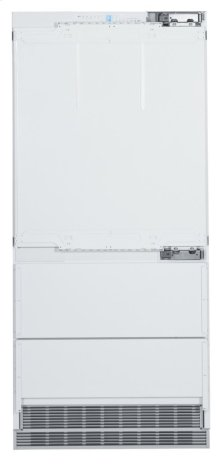 """36"""" Combined refrigerator-freezer with BioFresh and NoFrost for integrated use"""