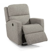 Chip Fabric Power Recliner