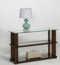 Sofa/Console Table - Burnished Cherry Finish Product Image