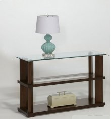 Sofa/Console Table - Burnished Cherry Finish