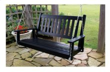 Plantation Slat Porch Swing