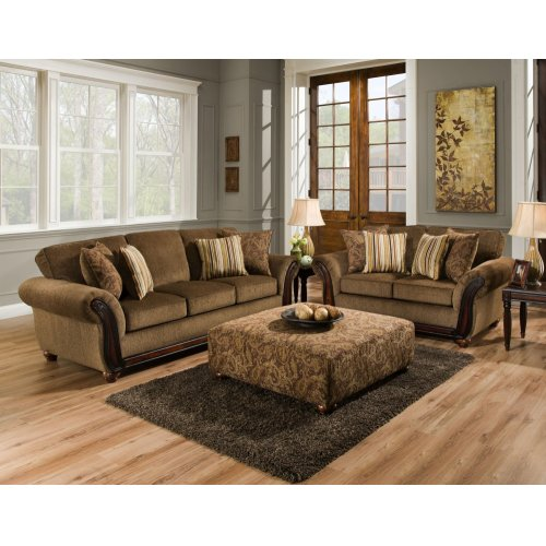 5650 - Cornell Chestnut Loveseat