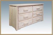 Homestead 6 Drawer Dresser