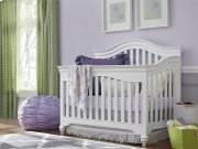 Convertible Crib - Summer White Product Image